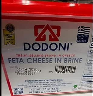 Dodoni Feta Cheese in Brine 7.7lb