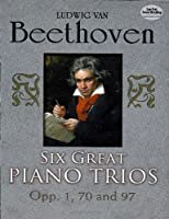 Six Great Piano Trios in Full Score (Dover Chamber Music Scores)