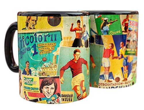Mug de Cerámica Vintage Fútbol