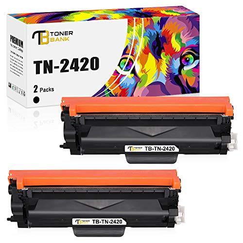 Toner Bank Kompatibel TN-2420 Tonerkartusche Ersatz für Brother TN2420 TN-2410 MFC-L2710DW für Brother MFC l2710DW L2710DN HL-L2350DW HL L2310D L2370DN HL-L2375DW DCP-L2510D DCP L2530DW L2550DN Toner