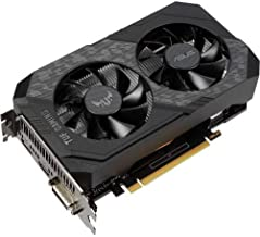 ASUS TUF Gaming NVIDIA GeForce GTX 1650 OC Edition Graphics Card (PCIe 3.0, 4GB GDDR6 Memory, HDMI, DisplayPort, DVI-D, IP...