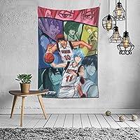 黒子のバスケ タペストリー 個性ギフト インテリア 壁飾り アニメ ウォールアート リビングルーム 部屋 ベッドルーム 新居祝い 102*152cm