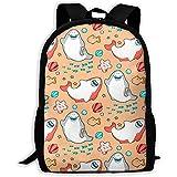 School Backpack Smiling Sharks Greet Kawai Emoji Bookbag Casual Travel Bag For Teen Boys Girls