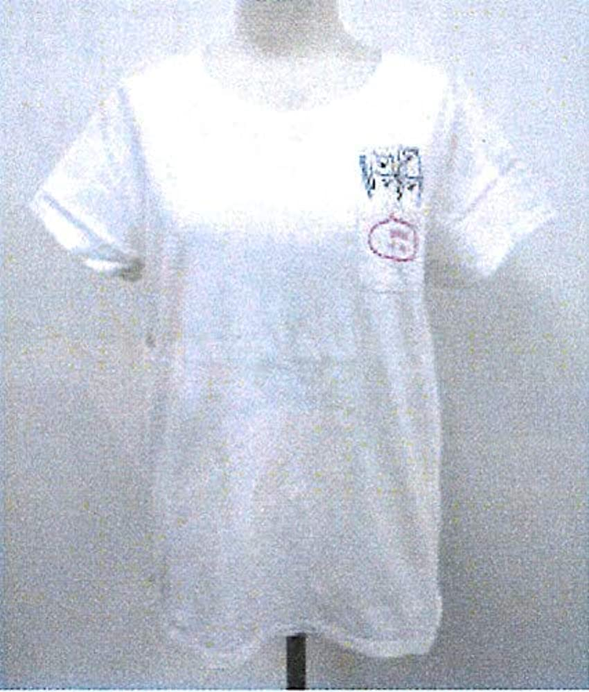 ヘルシー成熟遅れフレンズヒル(Friendshill) Tシャツ-M ホワイト 着丈61 ユルポッケ ゆるかわ GS-395-148