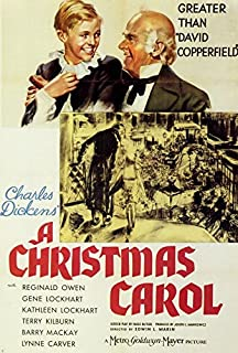 Movie Posters 27 x 40 A Christmas Carol