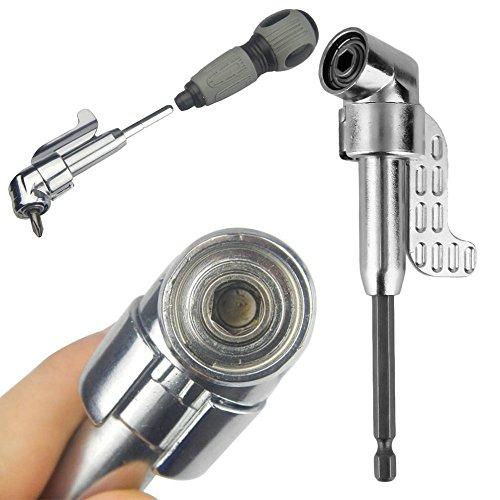 1/10,2cm 105° Verstellbarer Hexbit Winkel Fahrer Elektrische Schraubendreher magnetisch Bit Schlüssel Hex Bit versetzt Befestigung Hot