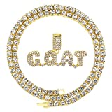 Unisex Hip Hop Iced Out Silver Gold Cz Diamond Bubble Dripping Full Name Letters...