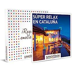 Smartbox - Caja Regalo - Súper Relax en Cataluña - Idea de Regalo - 2 Noches con Desayuno, SPA o cenas, o 2 Noches con Desayuno para 2 Personas.