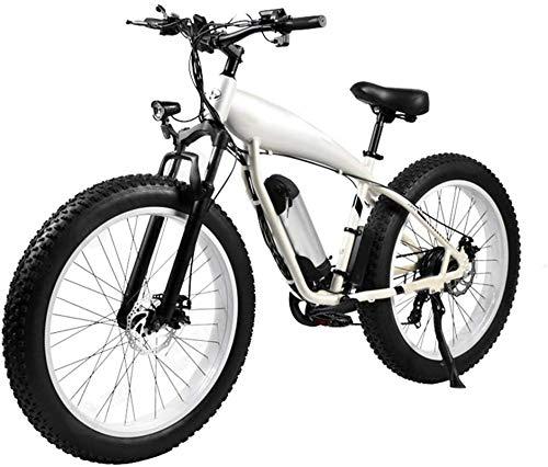 Bicicleta de montaña eléctrica, Bicicleta eléctrica for Adultos 26 '' Montaña bicicleta eléctrica E-bici de 36v 250w Batería extraíble de litio potente motor Fat Tire de la batería extraíble y Profess