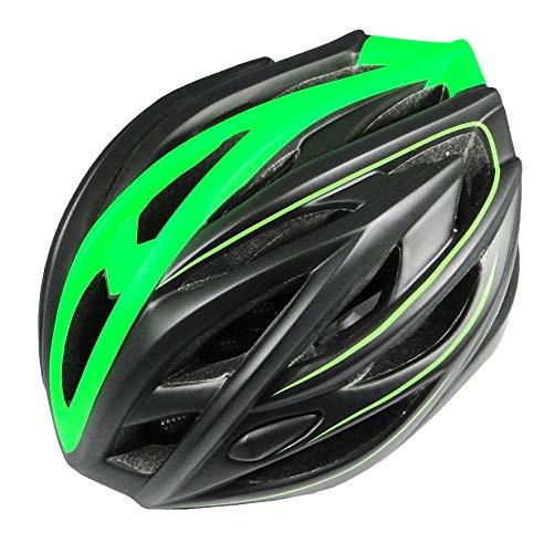 RYMEBIKES Casco Elite - Verde Fluor, M/L 58-61 CM