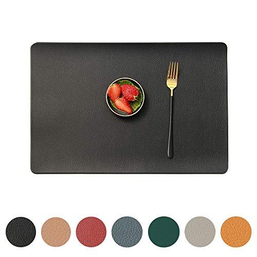 MANGATA Wischbare Tischsets, 8er Set, rutschfeste, hitzebeständige Platzsets für Küche / Restaurant