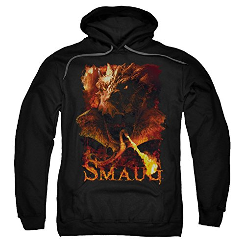 Hoodie: The Hobbit: The Battle of the Five Armies - Smolder Pullover Hoodie Size XXL