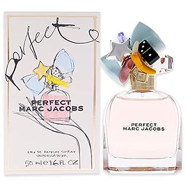 Marc Jacobs Perfect Eau de Parfum Spray for Women, 1.6 Ounce, Floral fragrance