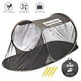 DIMPLES EXCEL Single Instant Pop Up Mosquito Net Automatic...