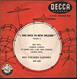 Ken Colyer's Jazzmen - '-And Back To New Orleans' Number 2 - Decca - DFE 6299