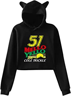 Woman's 51 Mello Yello Cole Trickle Cat Ear Hoodie Sweater