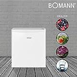 Bomann KB 389.1 Mini-Kühlschrank / 51 cm Höhe / 80 kWh/Jahr / regelbarer Thermostat / Kühlmittel R600a / weiß - 7