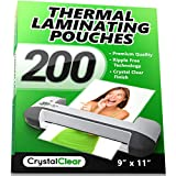 Crystal Clear 200-Pieces Universal Thermal...