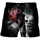 AYJMA Natación Pantalones Cortos Pantalones Cortos para Hombre Dragon Ball Goku...