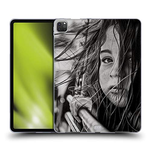Head Case Designs Officially Licensed Graham Bradshaw Long Road Illustrations Soft Gel Case Compatible with Apple iPad Pro 12.9 (2020)