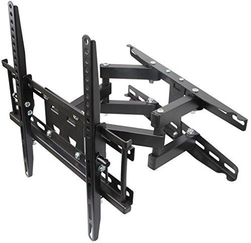 Husky Mounts Most 32-55 Inch Dual Arm Full Motion TV Wall Mount. 66 Lbs Capacity. Tilt Swivel Articulating TV Bracket. Most 32 37 39 40 42 46 47 50 52 55' LED LCD Flat Screen. Vesa TV Mount 400x400