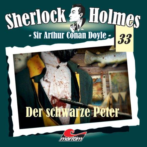 Der schwarze Peter audiobook cover art