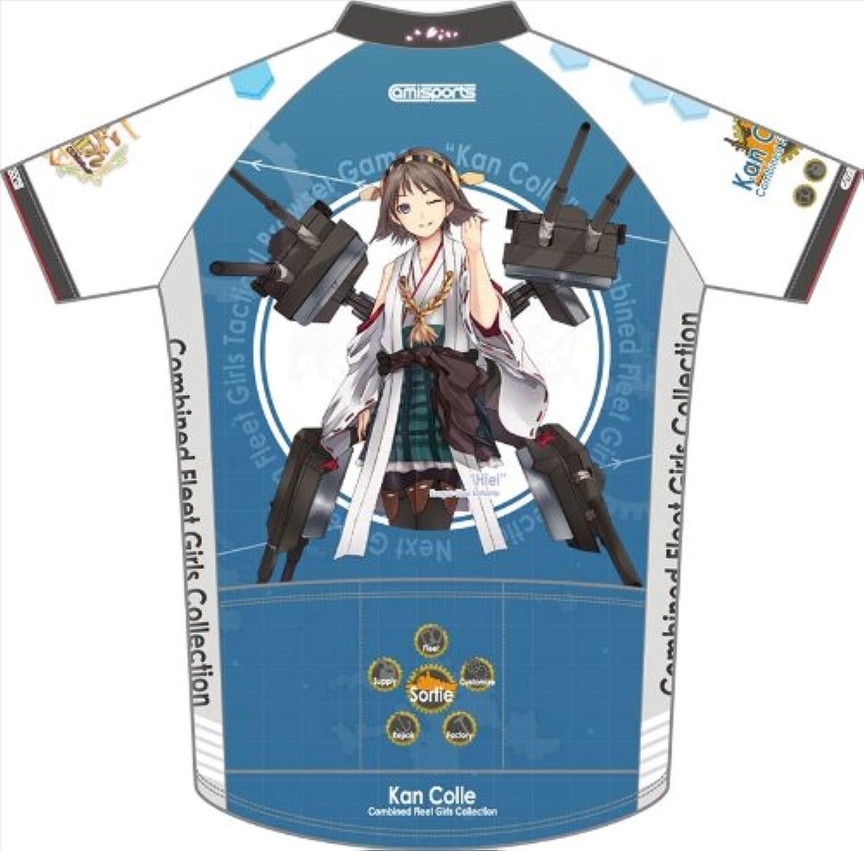 barato y de alta calidad Jersey ciclo kancolle acorazado Hiei Hiei Hiei tamaño de manga corta  L (japonesas Importaciones)  marcas de moda