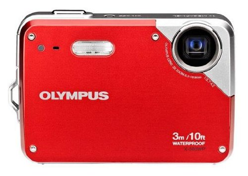 Olympus X-560WP Waterproof Roja