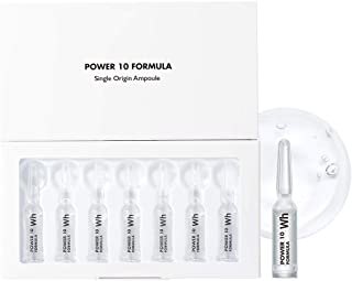 IT'S SKIN Power 10 Formula WH Single Origin Ampoule 1.7ml x 7ea - Milk Protein & Pearl Extract Skin Brighening Care, Anti-...