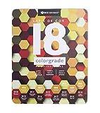 Lapis de Cor Profissional 18 Cores com Estojo de Metal Colorgrade D Triangular Madeira, Bee Unique