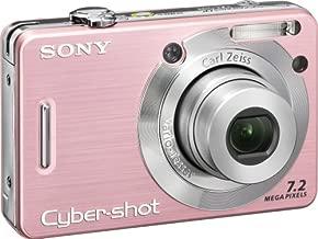 Sony Cybershot DSCW55 7.2MP Digital Camera with 3x Optical Zoom (Pink) (OLD MODEL)