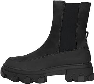 ONLY Onltola-1 Nubuck PU Chunky Boot-Noos, Bottine Femme