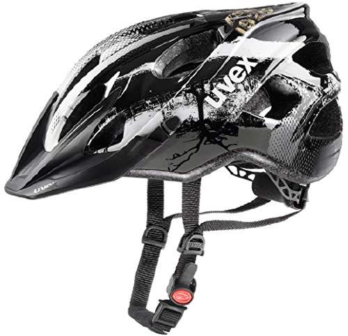 Uvex Erwachsenen Fahrradhelm Stivo CC Black/White S41079910 (56-61 cm)