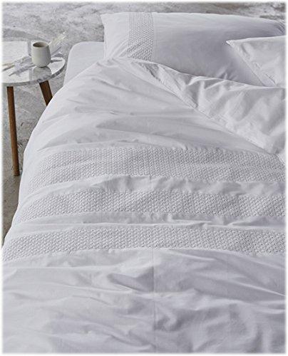 Essenza Premium Maxima White kussenslopen, 100% katoen perkal, 50x75