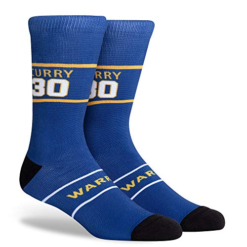 NBA Golden State Warriors Steph Curry Unisex Hi Wire Crew, Steph Curry, Large