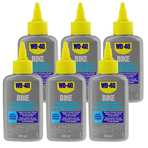 WD-40 - Kettingsmeermiddel BIKE Natte omgeving 100 ml (doos van 6 eenheden)