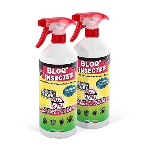 BLOQINSECTES Barrage aux Insectes Lot de 2 | Anti Fourmis et Insect intérieur et extérieur | Anti Mouche et Autres Insectes
