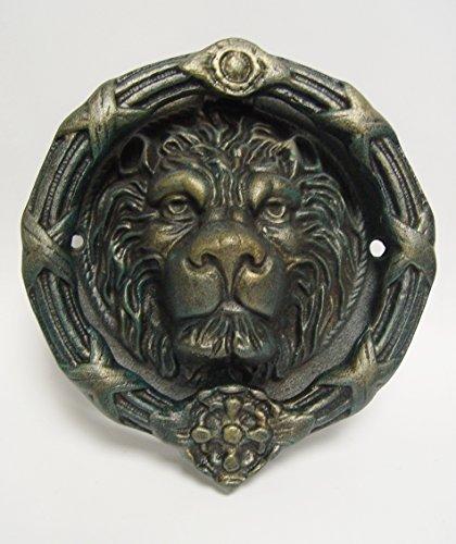 Türklopfer Tür Deko Gußeisen antik Motiv:Löwenkopf LxB:23,5x22cm