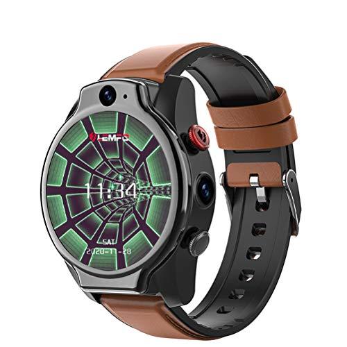 WMWX 4 + 64G Reloj Deportivo multifunción de Gran Capacidad Tarjeta de Video Reloj para teléfono Inteligente 4G, Reloj Impermeable de Pantalla Grande de 1.6 Pulgadas, Adecuado para el Reloj público