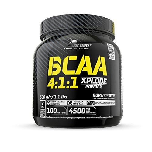 Olimp Sport Nutrition BCAA 4:1:1 Xplode en Polvo con Sabor Ponche de frutas - 500 g