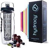 Toytle Fruit Infuser Water Bottle - 1 Litre Sport Bottle with Full Length
