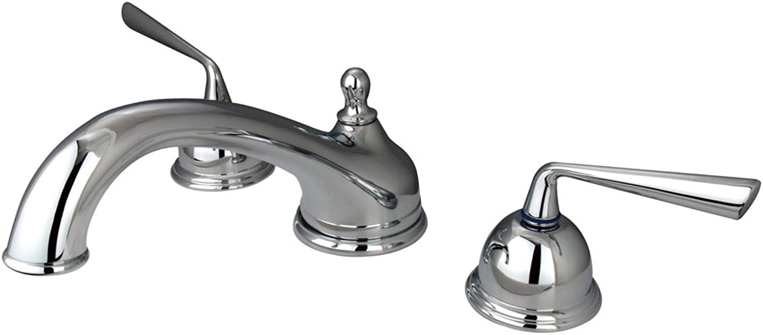 Durable Brass Roman Tub Filler in Polished Chrome Finish
