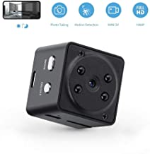 GXSLKWL Super Night Vision Portable Small Wireless Surveillance Camera, Perfect Hidden Camera Hidden Spy Camera Wireless 1...