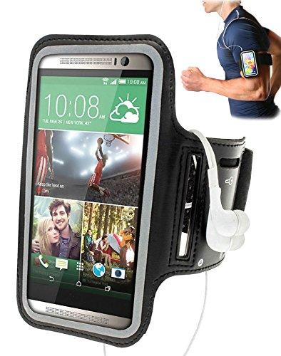 Negro Brazalete Armband Sport para Yezz Andy 5EI Smartphone ...