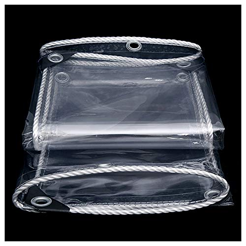 HQAA BachesBâches Transparentes De Résistance à La Déchirure, Bâches étanches Utilisées pour Couvrir Les Camions, Les Voitures, Les Piscines(Size:2 × 3m)