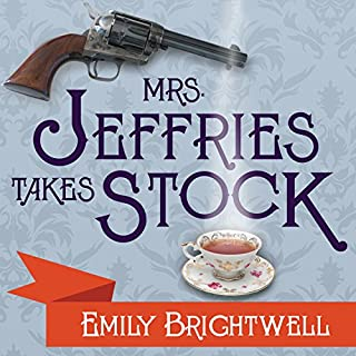 Mrs. Jeffries Takes Stock audiobook cover art