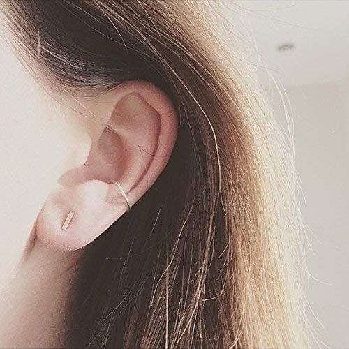 Basic no pierce  ear cuffs Sterling silver ear cuffs no pierce earrings Plain Silver Ear Cuffs boho jewelry ear cuffs