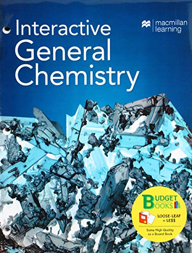 Loose-leaf Version for Interactive General Chemistry