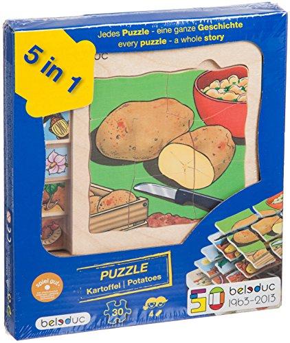 Beleduc 17043 Lagenpuzzle Entwicklung Kartoffel