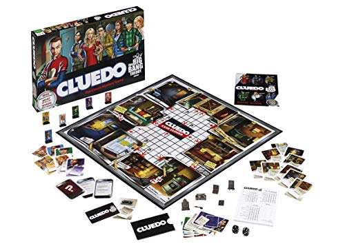 Cluedo Big Bang Theory - Bordspel -  Cluedo geheel in stijl van The Big Bang Theory! - Voor de hele familie - Taal: Nederlands